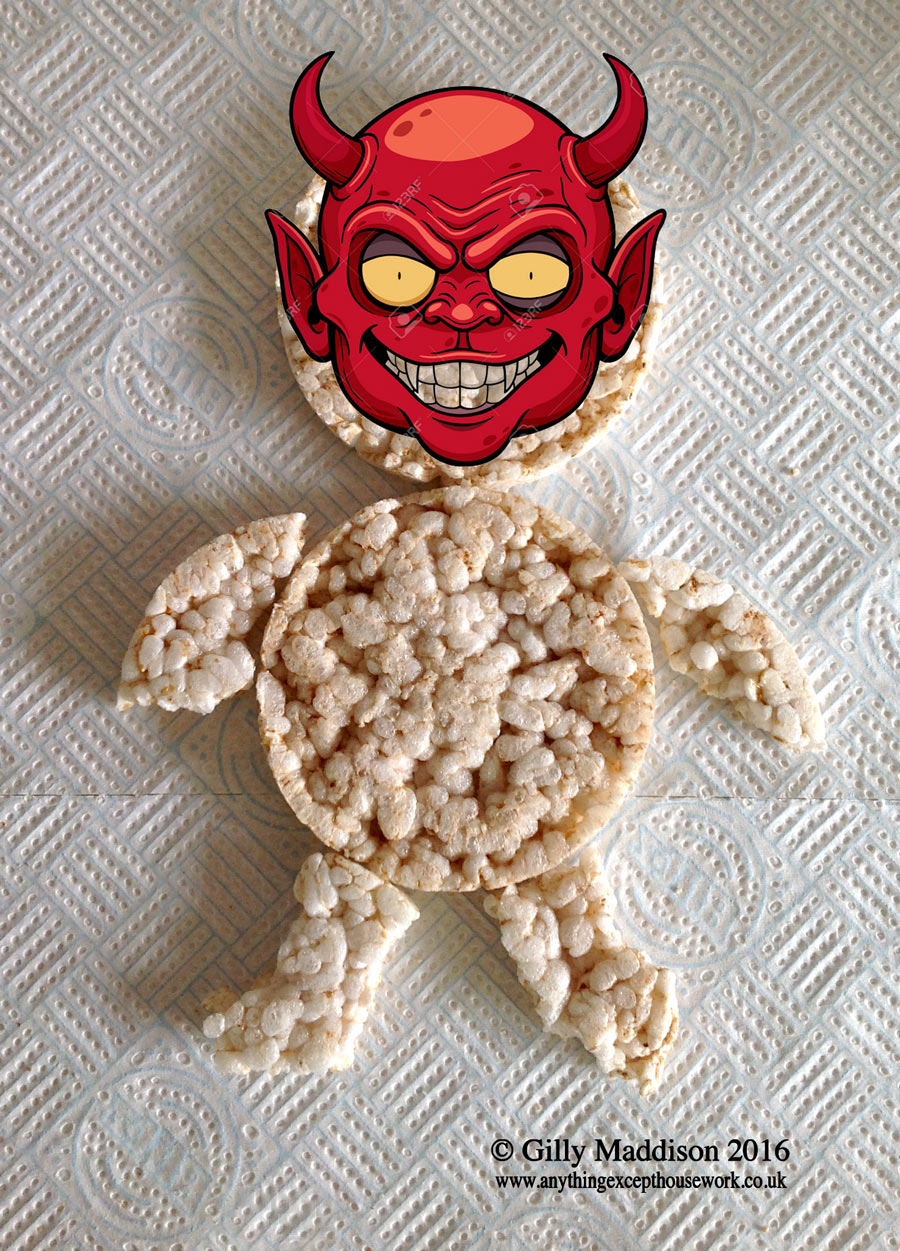 Devil-Face-Rice-Cake